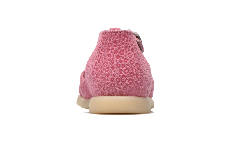 Sandalen Little Mary PASSION rosa ansicht von rechts