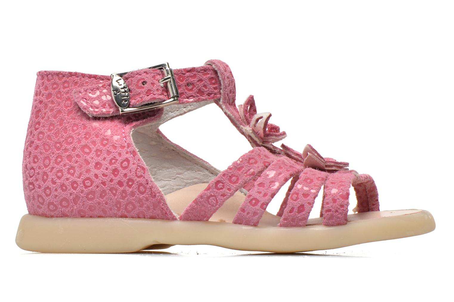 Sandals Little Mary PASSION Pink back view