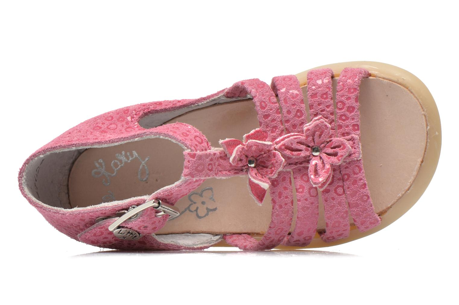 Sandalen Little Mary PASSION rosa ansicht von links