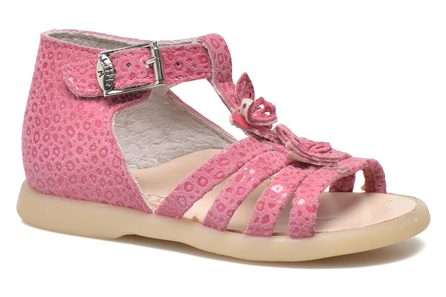 Sandals Little Mary PASSION Pink detailed view/ Pair view