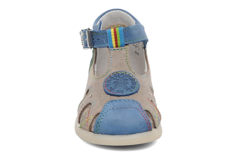 Sandales et nu-pieds Little Mary PABLO Gris vue portées chaussures