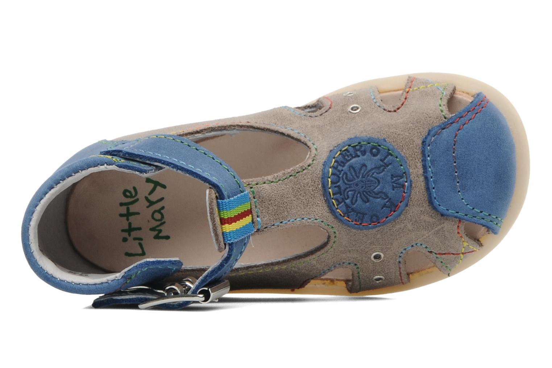 Sandalen Little Mary PABLO grau ansicht von links