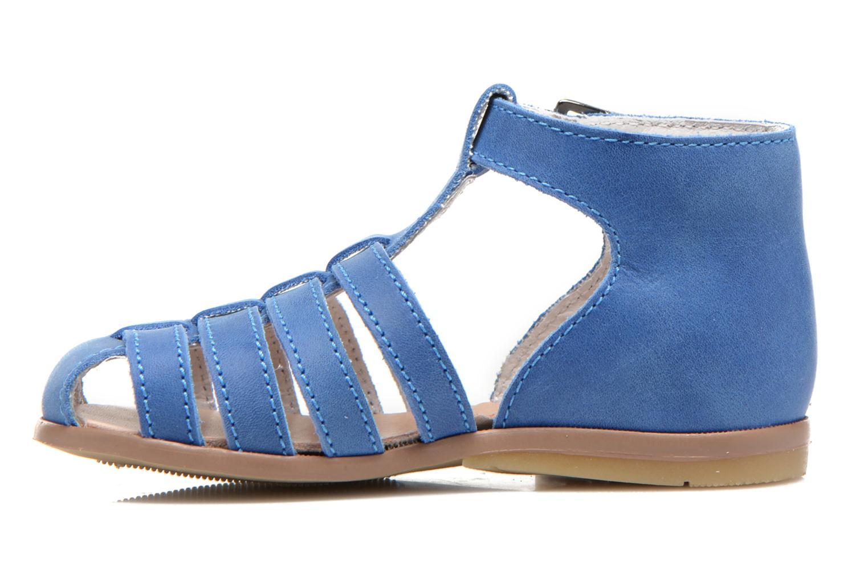 Sandales et nu-pieds Little Mary Jules Bleu vue face