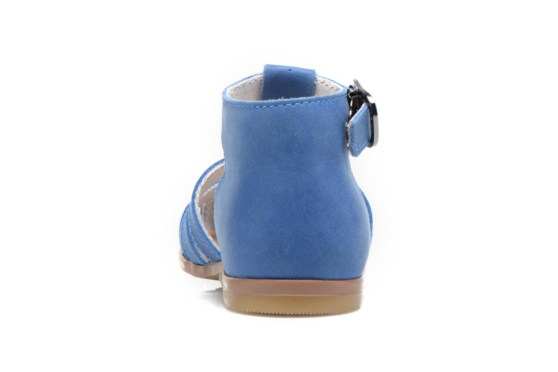 Sandalen Little Mary Jules blau ansicht von rechts