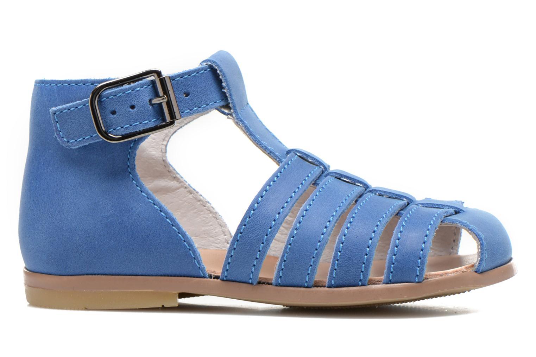 Sandalen Little Mary Jules blau ansicht von hinten