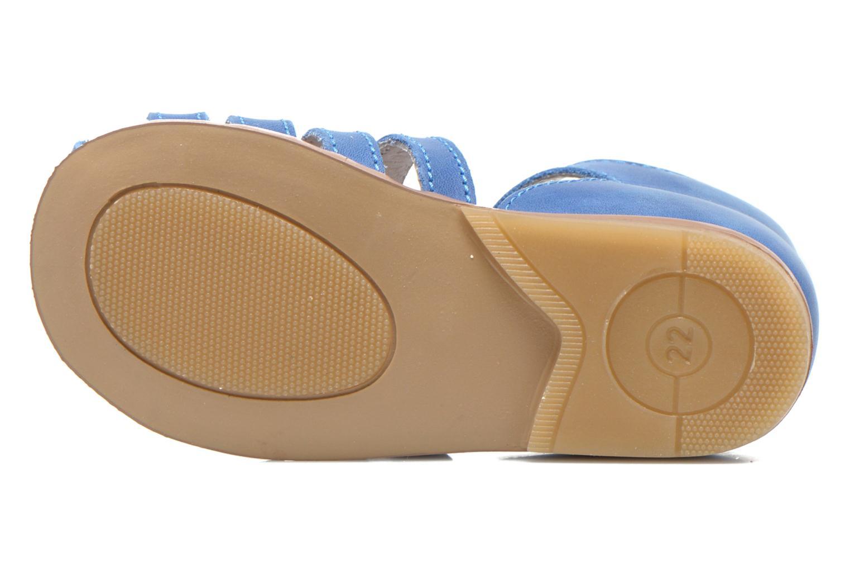 Sandales et nu-pieds Little Mary Jules Bleu vue haut
