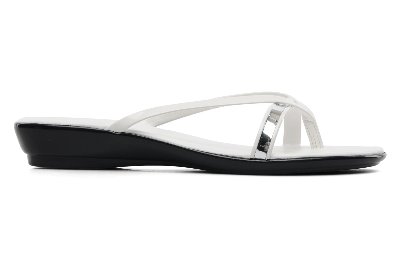 Sandales et nu-pieds Georgia Rose Carabine Blanc vue derrière