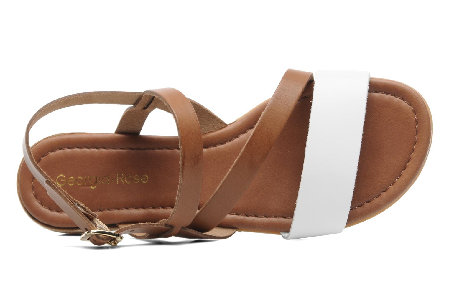 Sandalen Georgia Rose Caravelle Bruin links