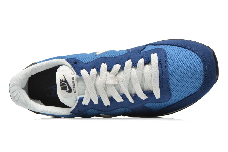 Sneaker Nike Nike Internationalist blau ansicht von links