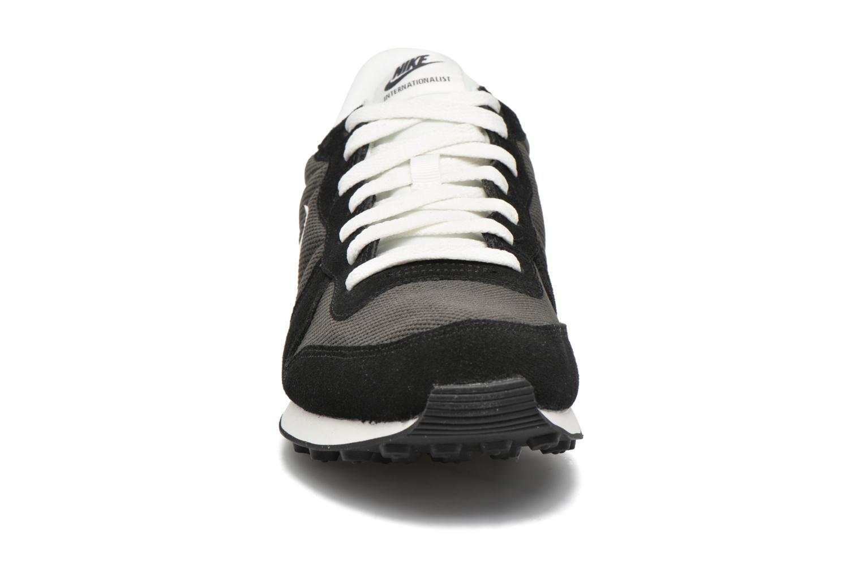 Sneaker Nike Nike Internationalist grau schuhe getragen