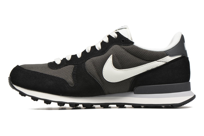 Sneaker Nike Nike Internationalist grau ansicht von vorne
