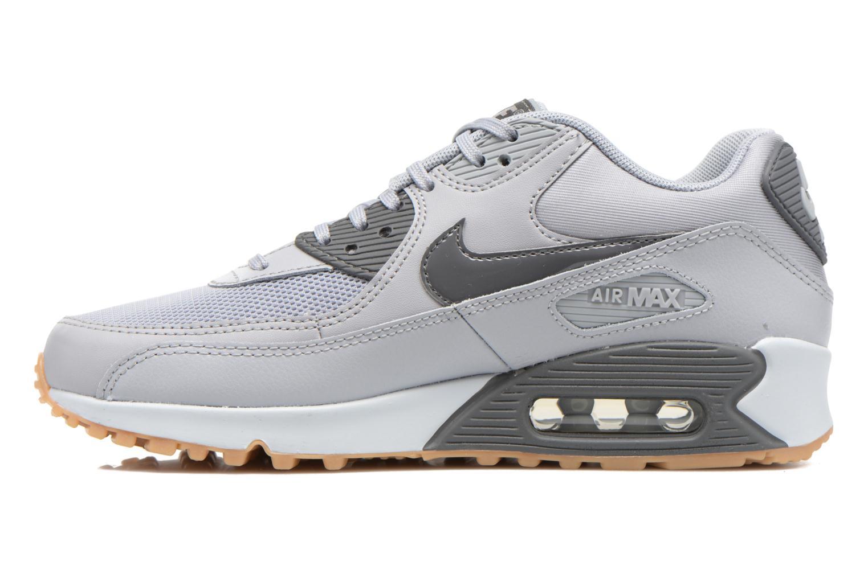 Sneaker Nike Wmns Air Max 90 Essential grau ansicht von vorne