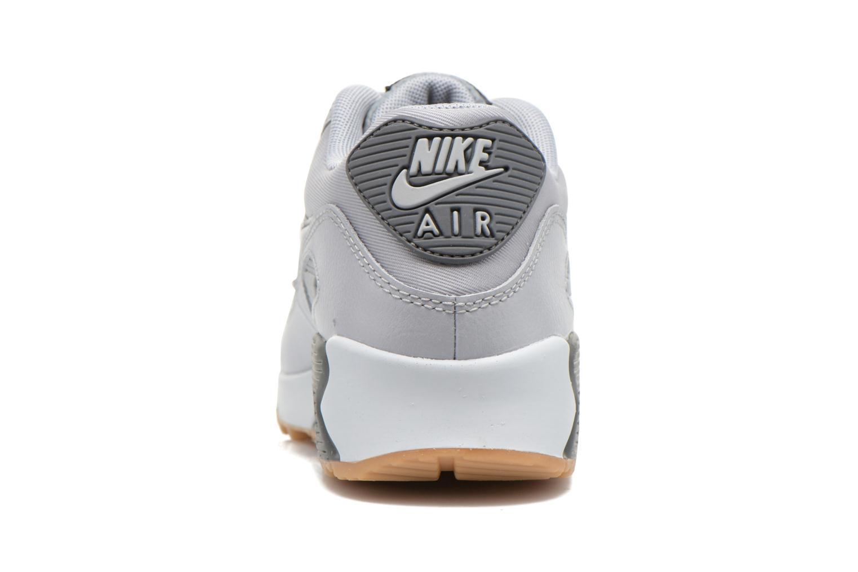 Baskets Nike Wmns Air Max 90 Essential Gris vue droite