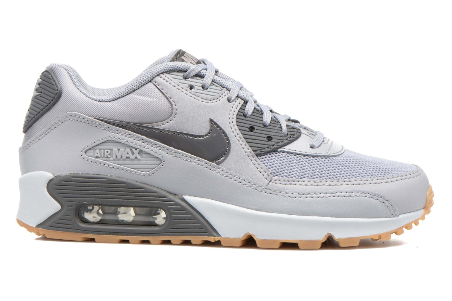 Trainers Nike Wmns Air Max 90 Essential Grey back view