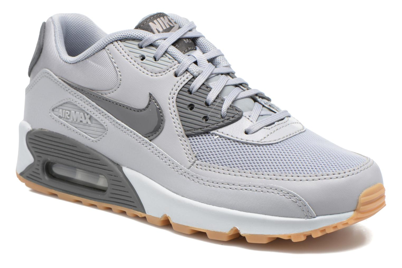 Baskets Nike Wmns Air Max 90 Essential Gris vue détail/paire