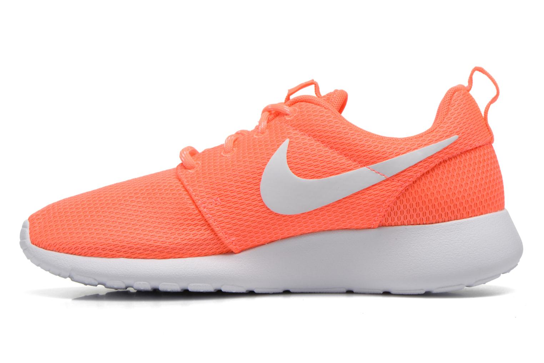 Baskets Nike Wmns Nike Roshe One Orange vue face