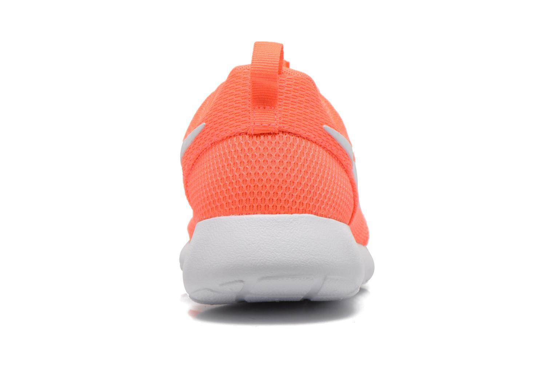 Baskets Nike Wmns Nike Roshe One Orange vue droite