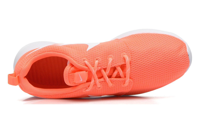 Baskets Nike Wmns Nike Roshe One Orange vue gauche