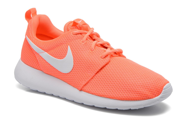 Baskets Nike Wmns Nike Roshe One Orange vue détail/paire