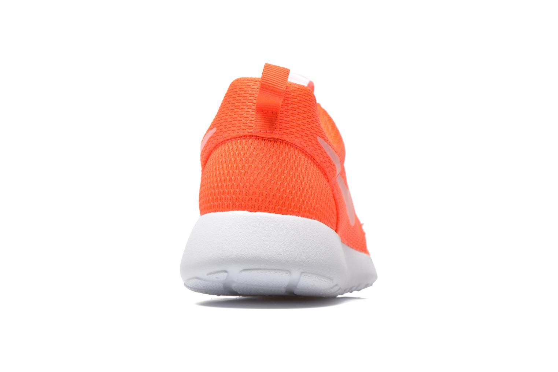 Sneaker Nike Wmns Nike Roshe One orange ansicht von rechts