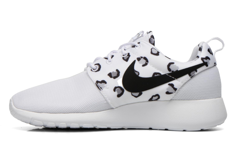 Sneakers Nike Wmns Nike Rosherun Print Bianco immagine frontale