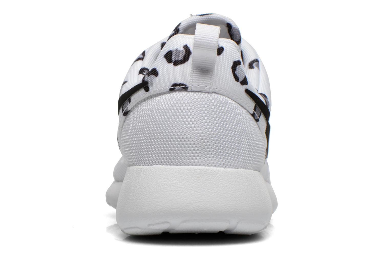 Sneakers Nike Wmns Nike Rosherun Print Bianco immagine destra