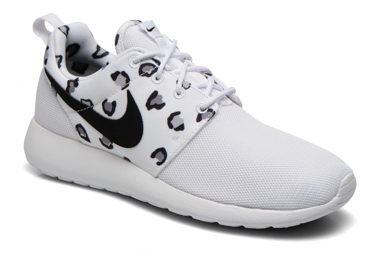 Wmns Nike Rosherun Print White/black