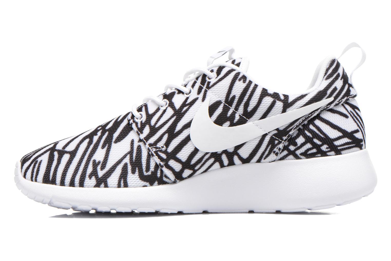 Sneaker Nike Wmns Nike Rosherun Print mehrfarbig ansicht von vorne