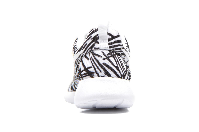 Wmns Nike Rosherun Print White/white-Black