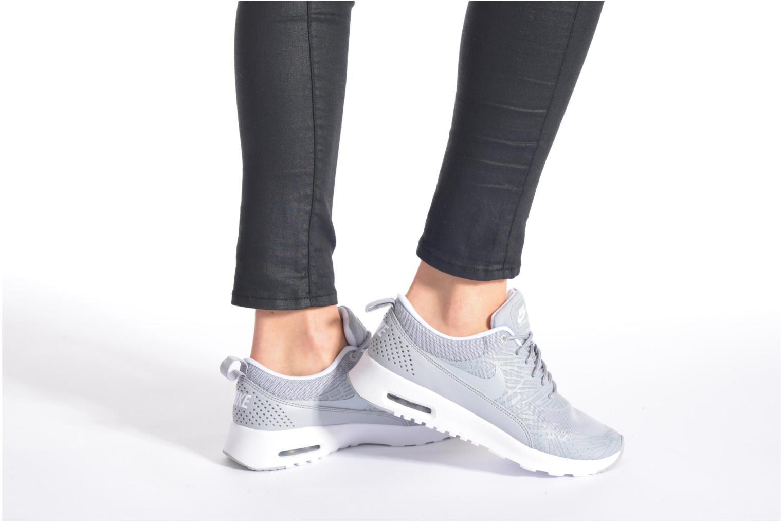 Sneaker Nike Wmns Nike Air Max Thea Print schwarz ansicht von unten / tasche getragen