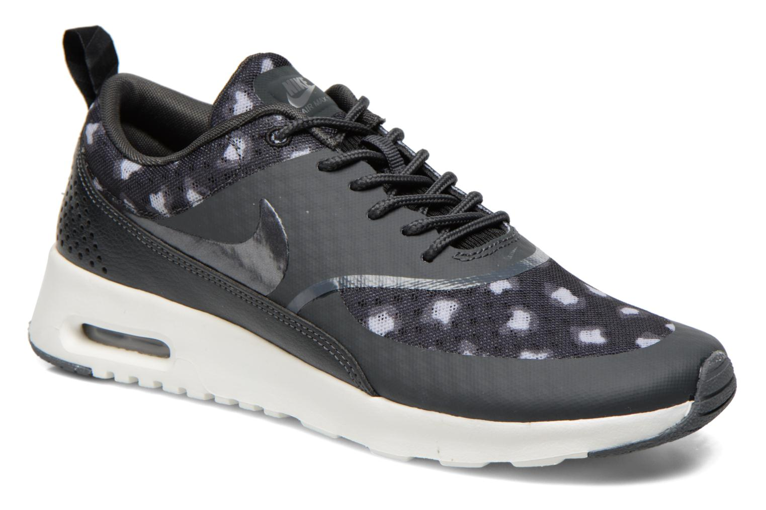 Wmns Nike Air Max Thea Print Black/Drk Grey-Anthrct-Wlf Gry