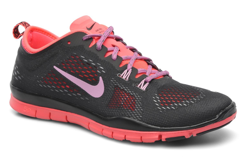 Chaussures de sport Nike Wmns Nike Free 5.0 Tr Fit 4 Noir vue détail/paire
