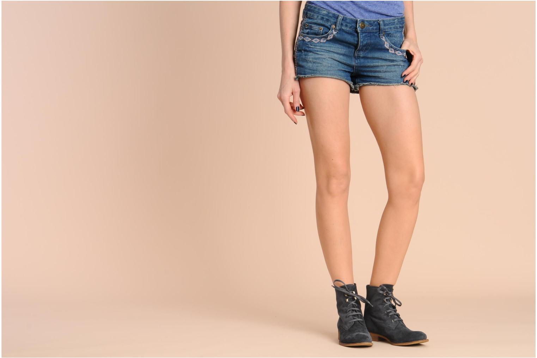 Stiefeletten & Boots Georgia Rose Tatillon braun ansicht von unten / tasche getragen