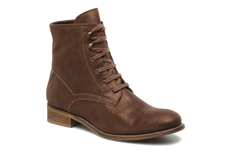 Stiefeletten & Boots Georgia Rose Tatillon braun detaillierte ansicht/modell