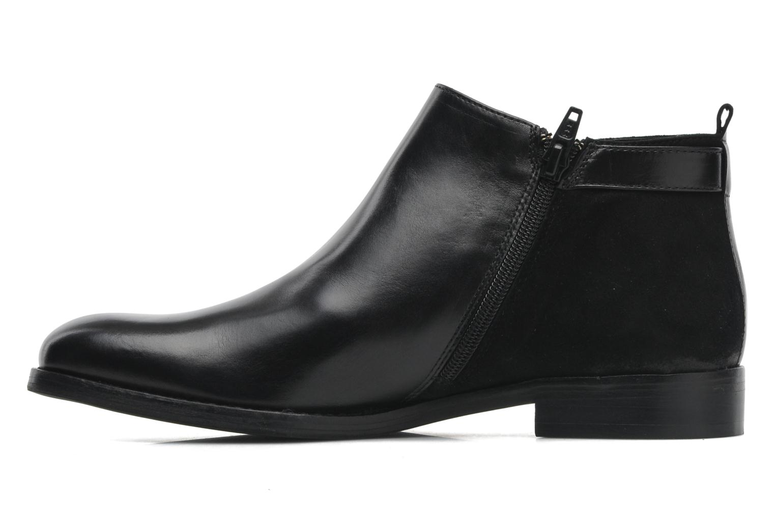 Ankle boots Georgia Rose Tatouille Black front view