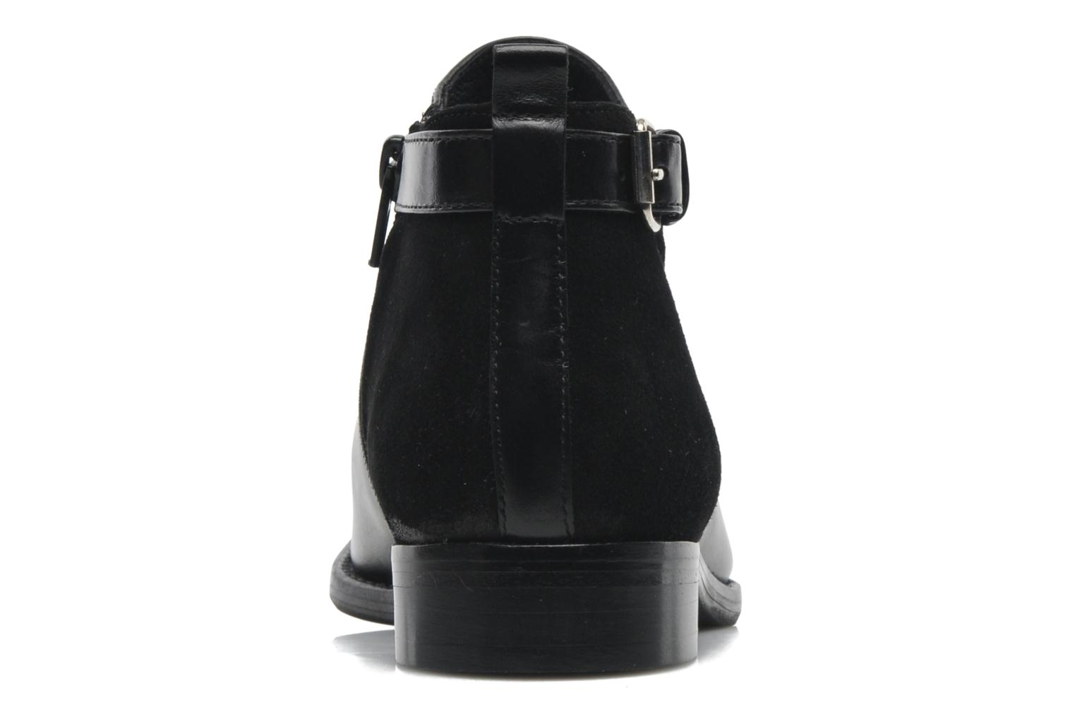 Ankle boots Georgia Rose Tatouille Black view from the right