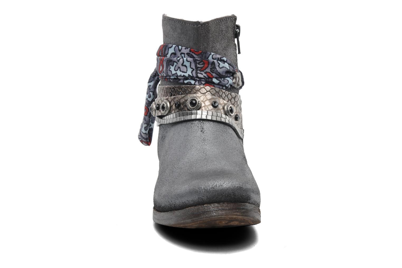 Stiefeletten & Boots Khrio Magi grau schuhe getragen