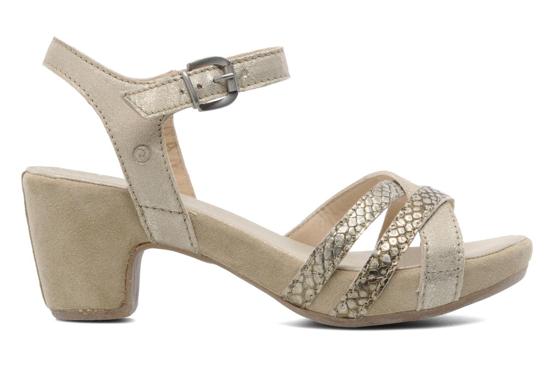 Sandales et nu-pieds Khrio Mirsa Or et bronze vue derrière