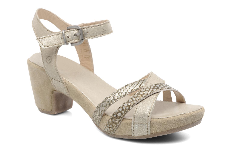 Sandales et nu-pieds Khrio Mirsa Or et bronze vue détail/paire