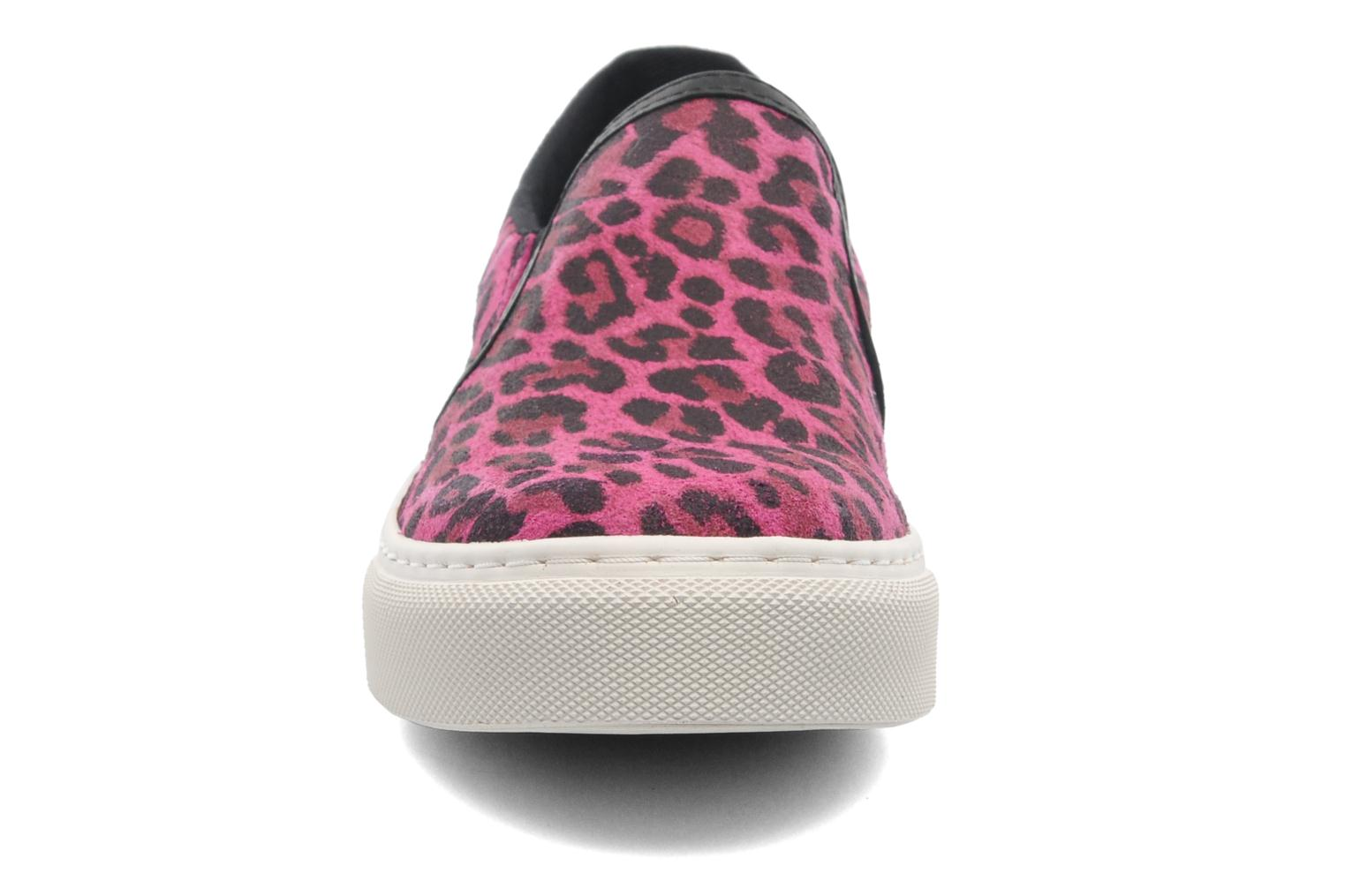 Trainers Bronx Del Pink model view