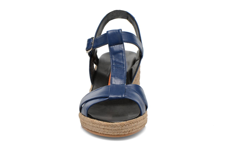 Sandalen Anna Volodia Jemeo blau schuhe getragen