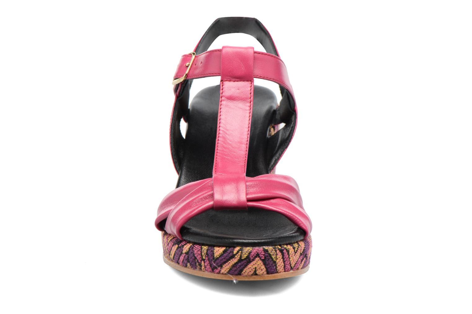 Sandals Anna Volodia Jemeo Pink model view