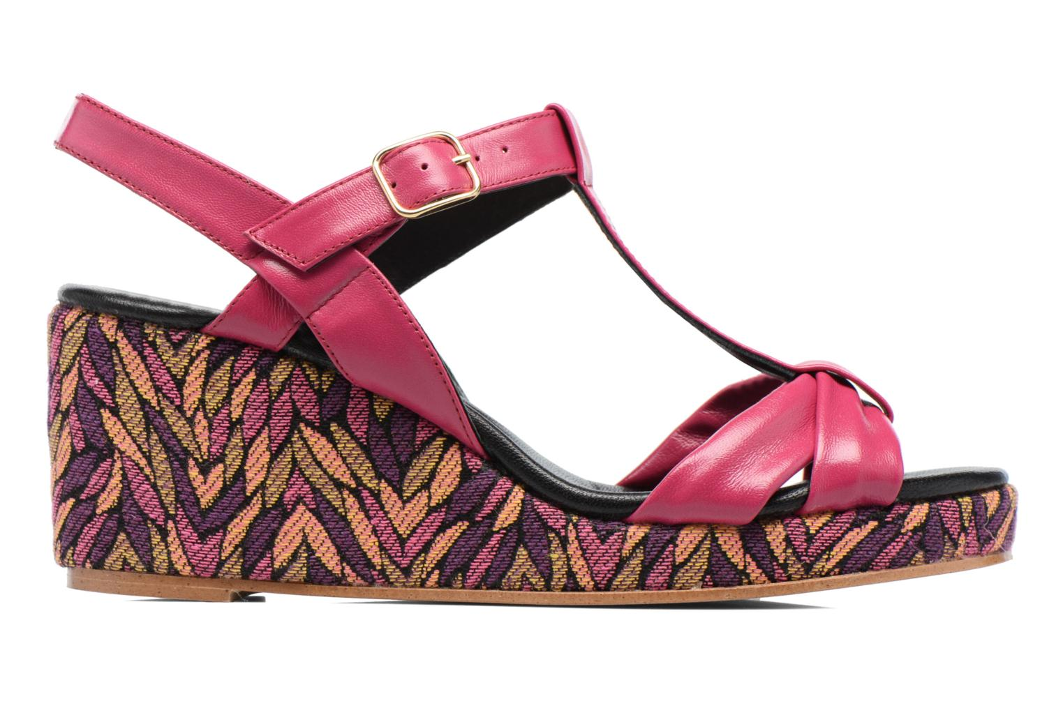 Sandals Anna Volodia Jemeo Pink back view