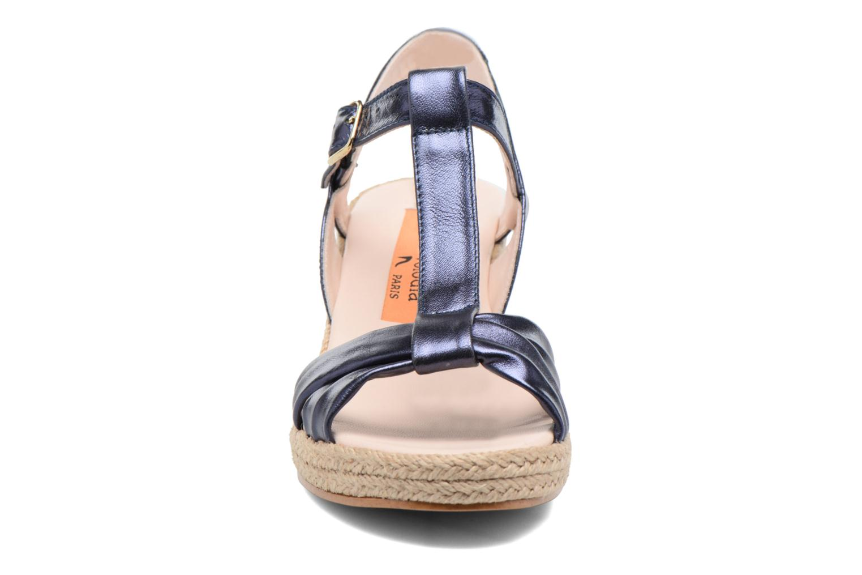 Sandales et nu-pieds Anna Volodia Jemeo Bleu vue portées chaussures