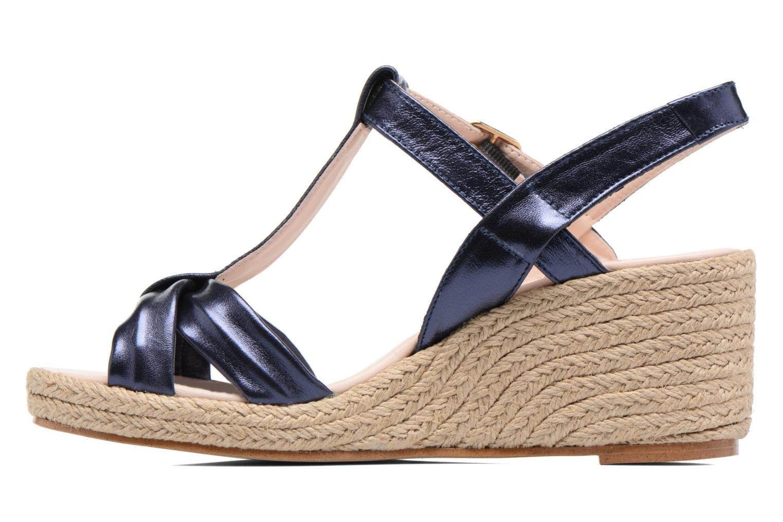 Sandales et nu-pieds Anna Volodia Jemeo Bleu vue face