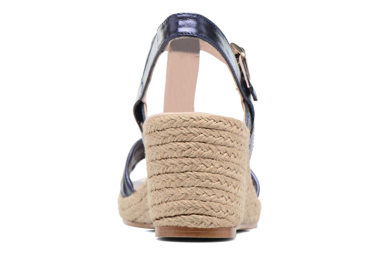 Sandales et nu-pieds Anna Volodia Jemeo Bleu vue droite
