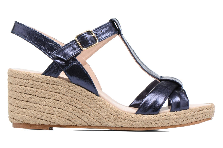 Sandales et nu-pieds Anna Volodia Jemeo Bleu vue derrière