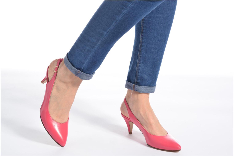 Zapatos de tacón Anna Volodia Mali Rosa vista de abajo