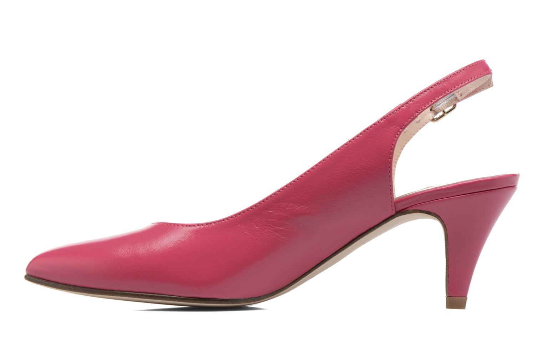 Zapatos de tacón Anna Volodia Mali Rosa vista de frente