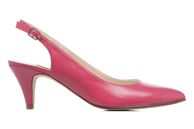 Zapatos de tacón Anna Volodia Mali Rosa vistra trasera
